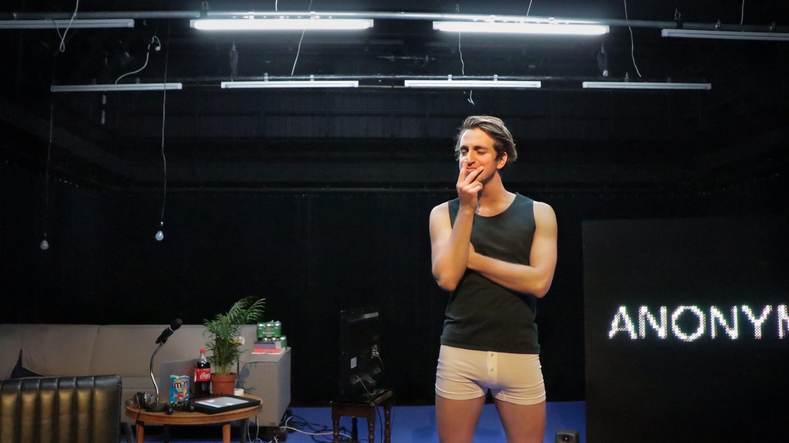 Abe Dijkman - Lurk Moar - Acteur - Frascati Theater - Theater - Charli Chung